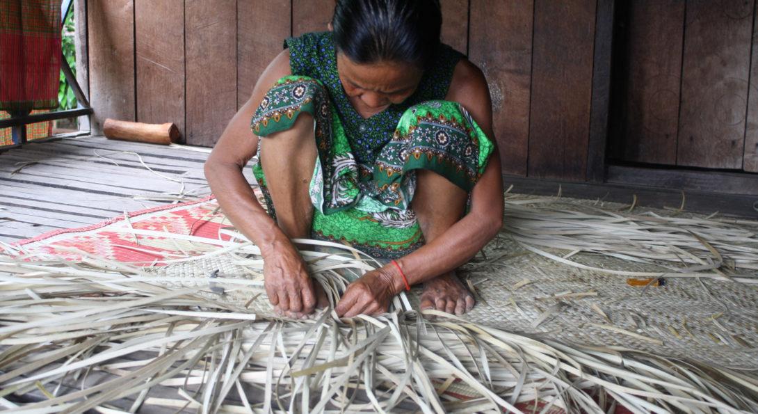 Cambodia Mat Crafting