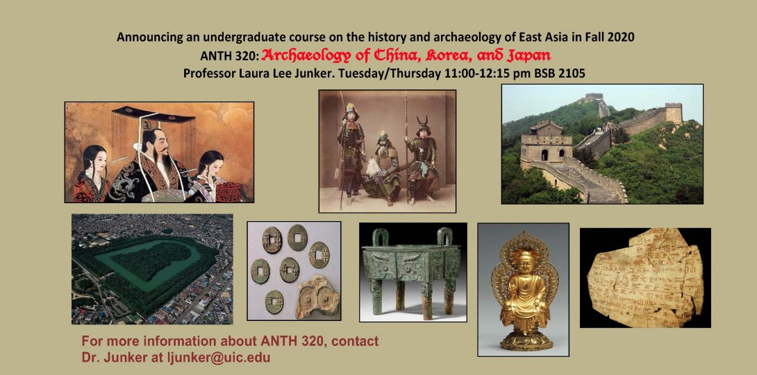 Junker Fall 2020 Archaeology of China, Korea and Japan